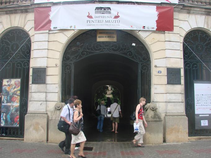 conferinta muzeul de arta